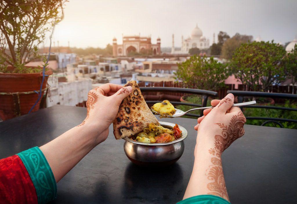 Agra food
