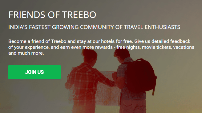https://www.treebo.com/fot/ Treebo Journey