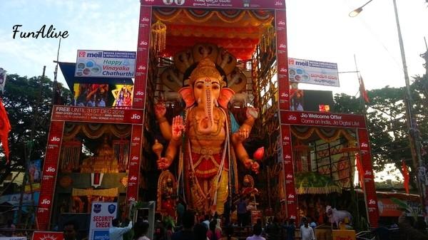 Celebrate Ganesh Chaturthi in Hyderabad