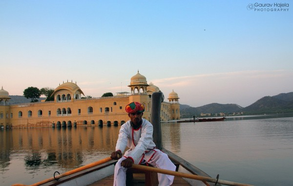 A Boat Ride to Jal Mahal