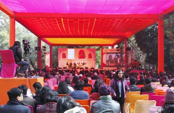 Visit the Jaipur Literature festival
