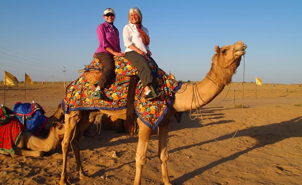 Camel Ride in Jaipur
