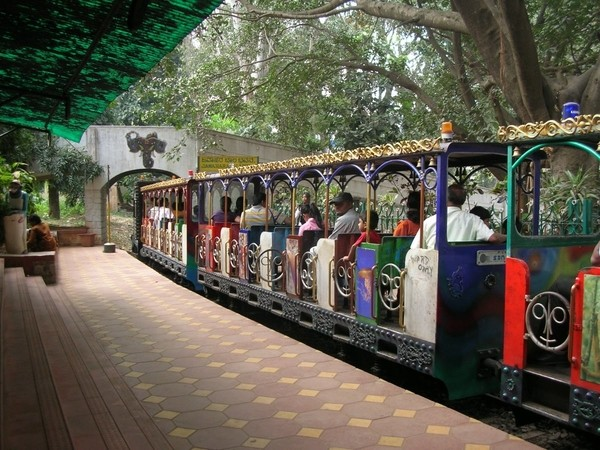 Toy Train in Cubbon Park Bangalore