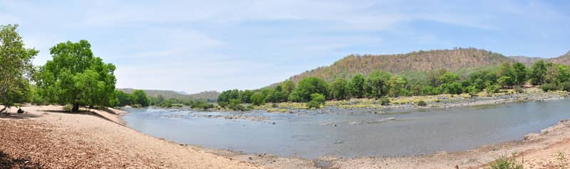 River Cauvery at Bheemeshwari