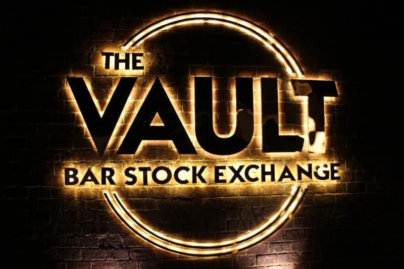 The Vault Bar Stock Exchange