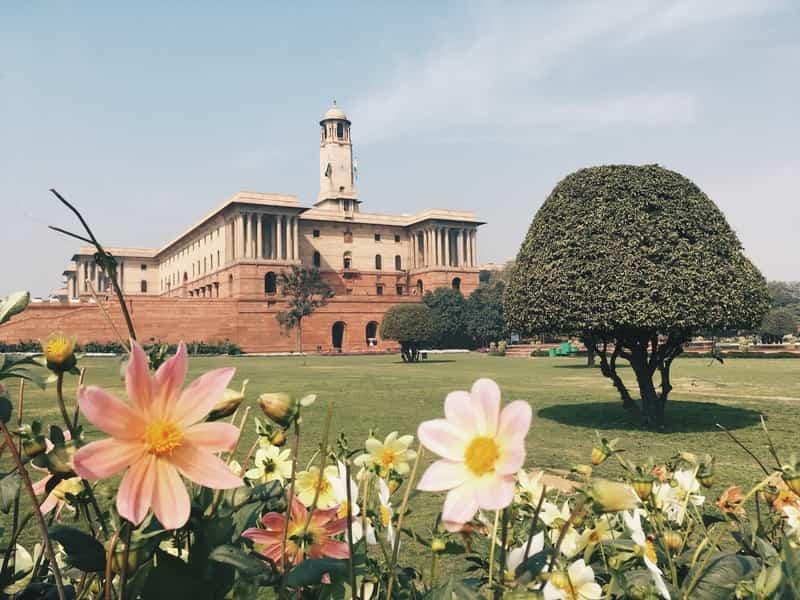 Mughal gardens, Rashtrapati Bhavan