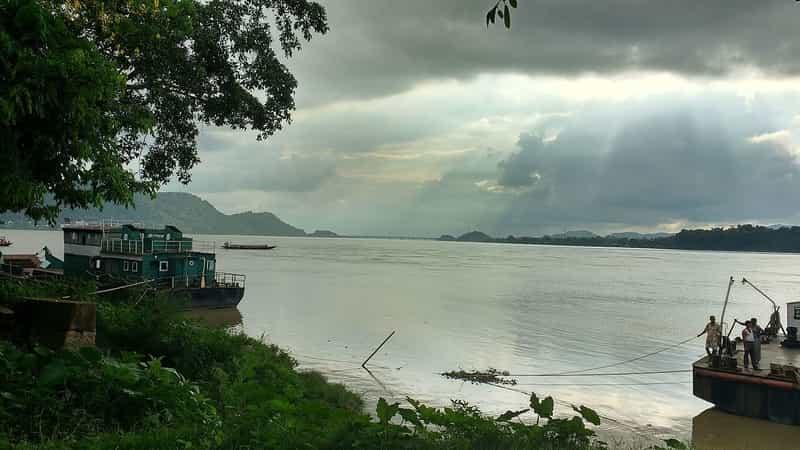 Brahmaputra river, Guwahati