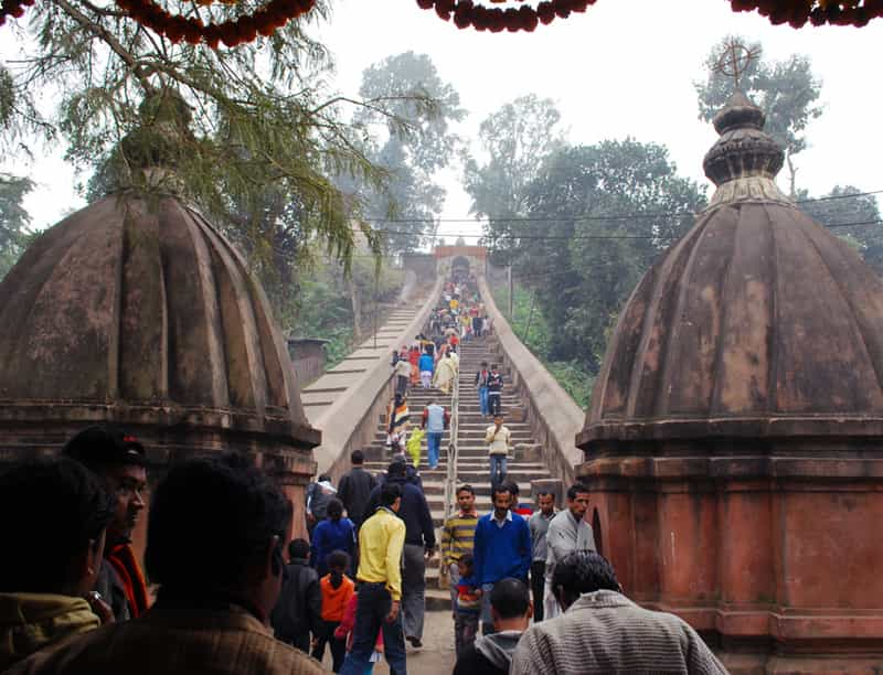 Entrance to Madhab temple, Hajo, Assam