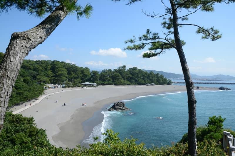 Katsura beach in Kochi