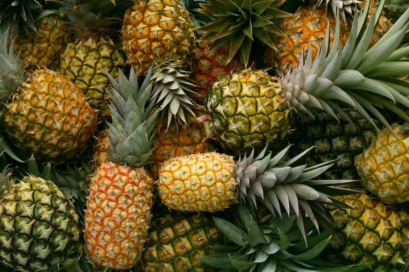 Pineapples in Shillong
