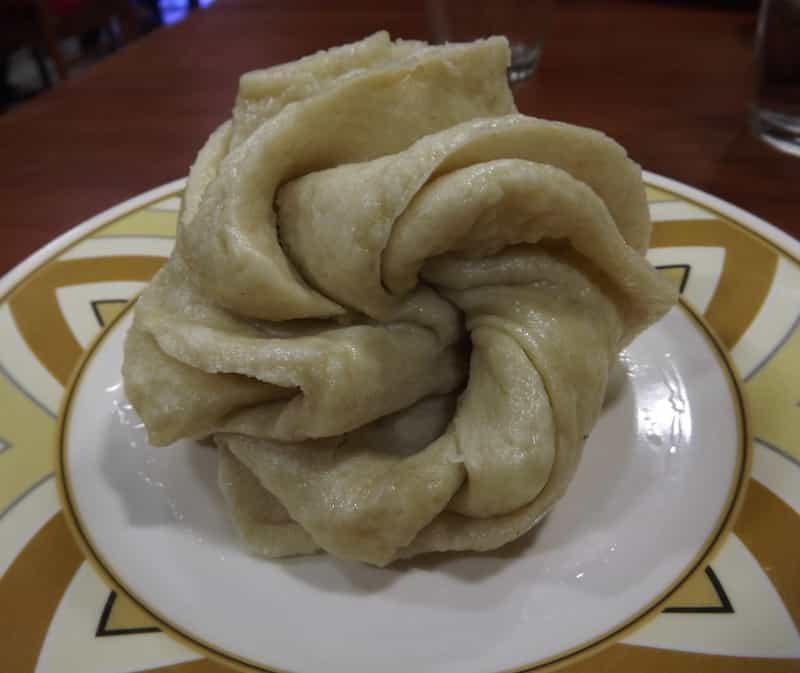 Tingmo, a Tibetan bread