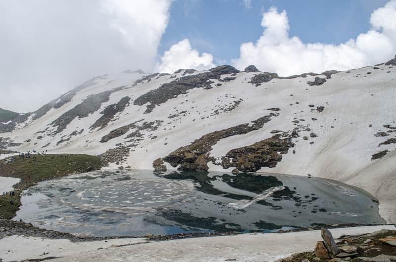 Bhrigu Lake, India