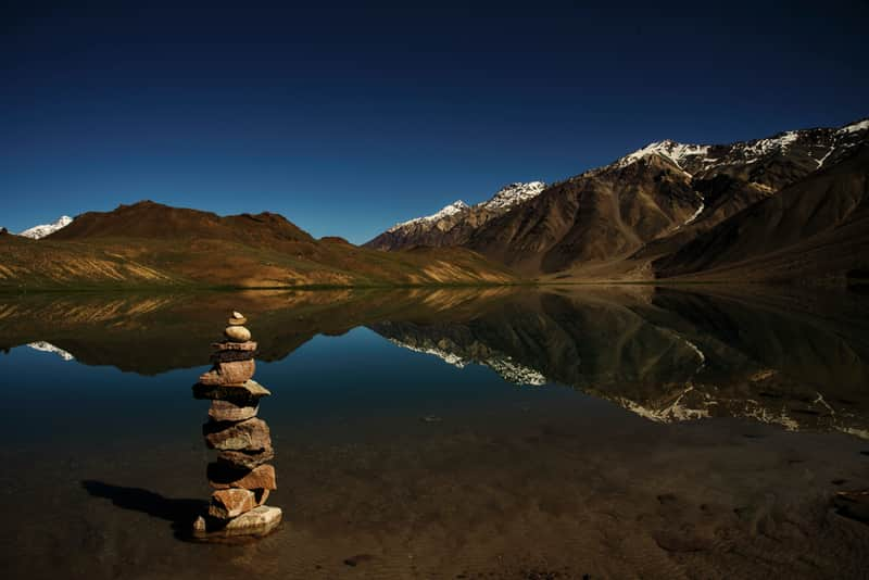 Chandrataal Lake, Spiti, India