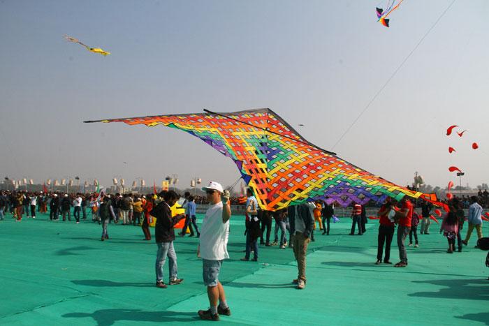 Jaipur kite festival inaugauration