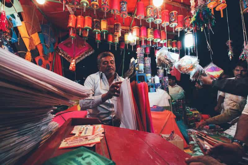 Kite Shop in Jaipur