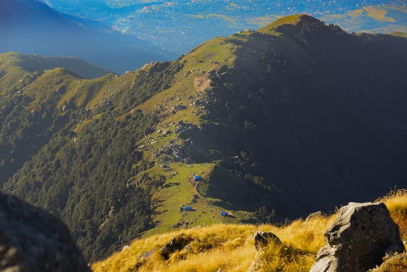 Triund Mountain Trek, India