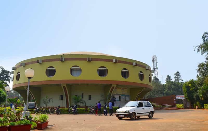 Pathani Samanta planetarium building