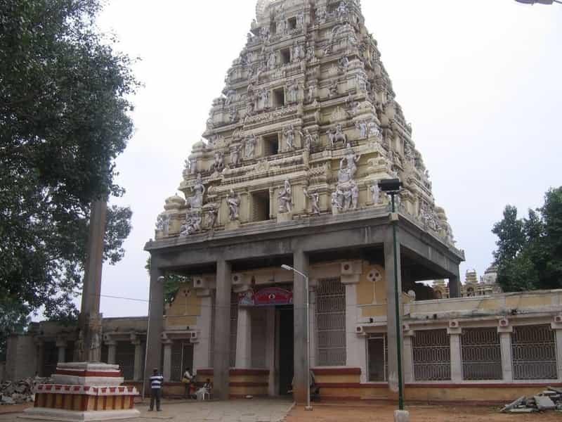 An Old Temple in Basavanagudi