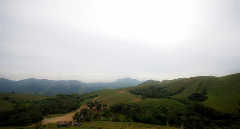 Beautiful Hills in Coorg