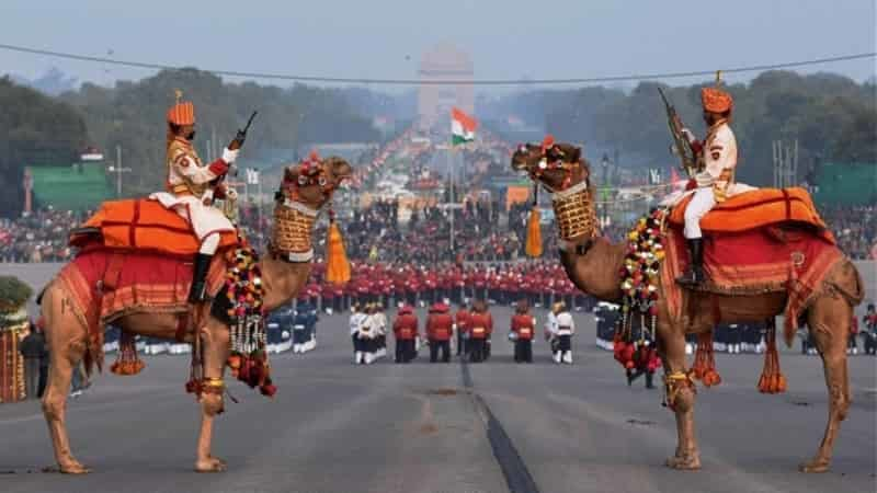 Beating the Retreat Ceremony on Republic Day