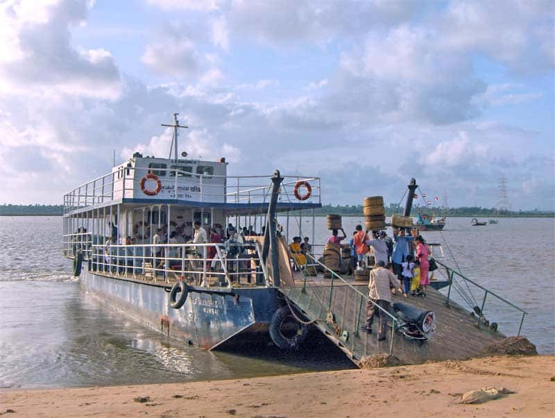 A Ferry At Marve