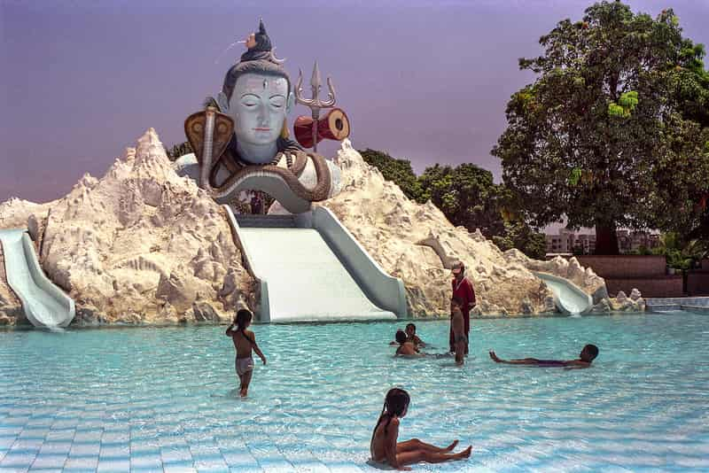 Suraj Water Park has been around at least two decades