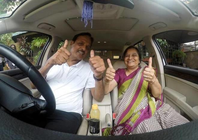 Badri and Pushpa Baldawa