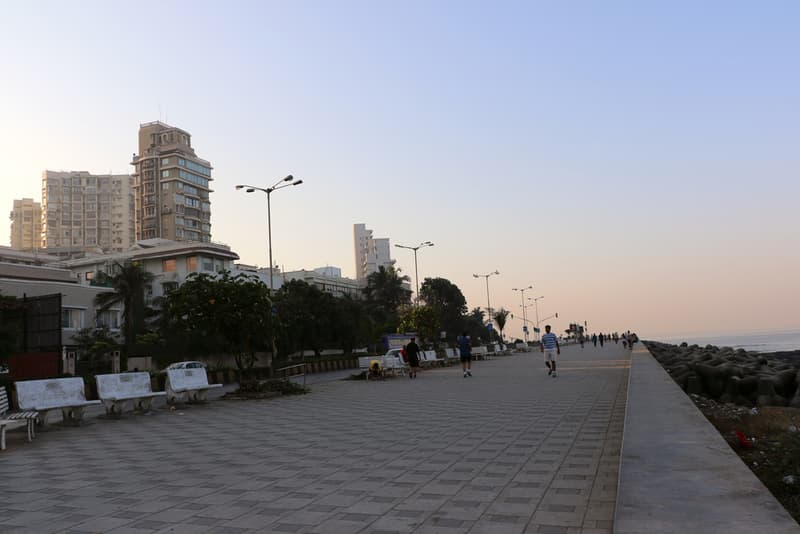 Breath in the crisp morning air on Worli Sea Face