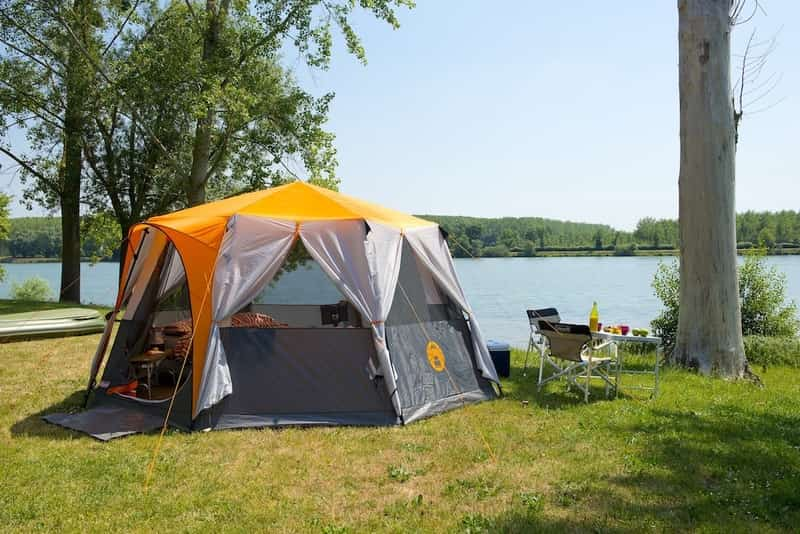 Camping at Sula Fest