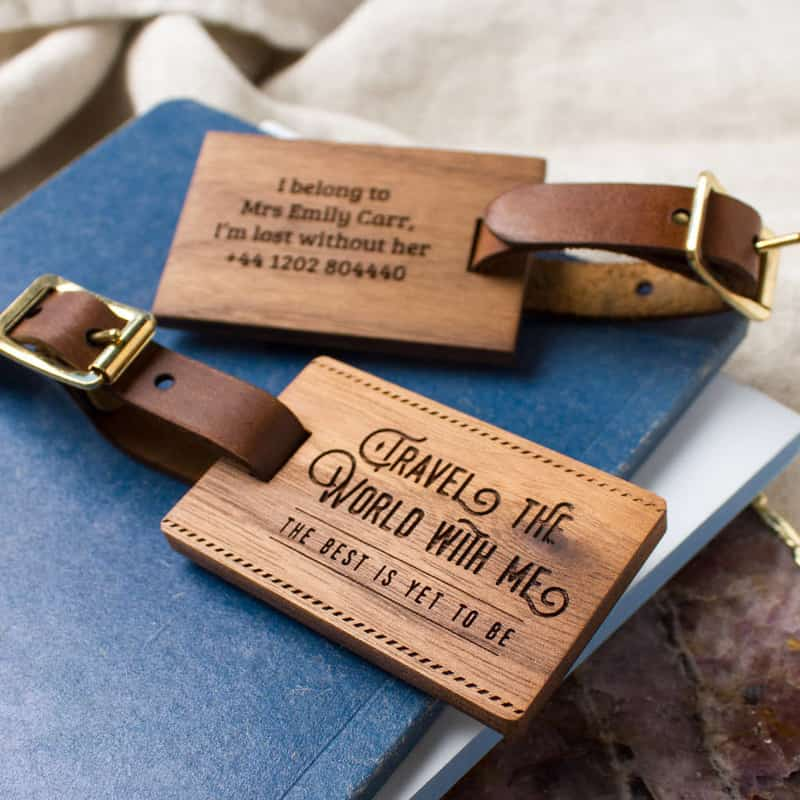 Couple Luggage Tags