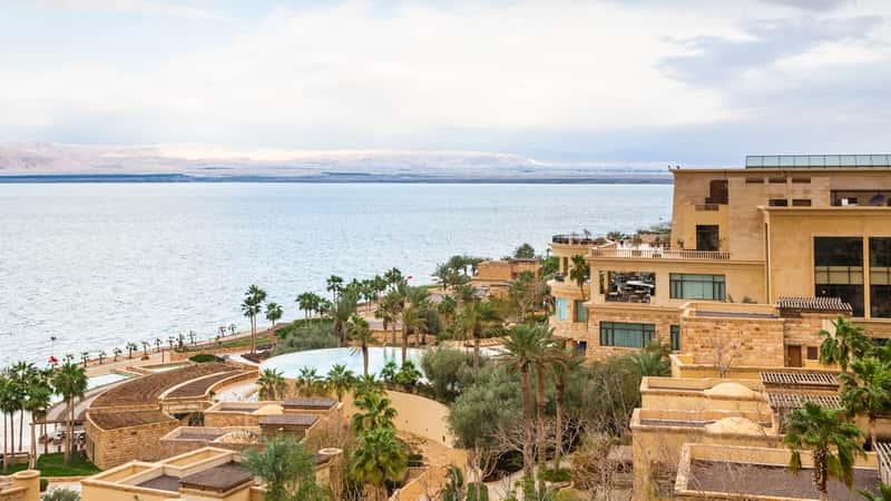 Dead Sea in February