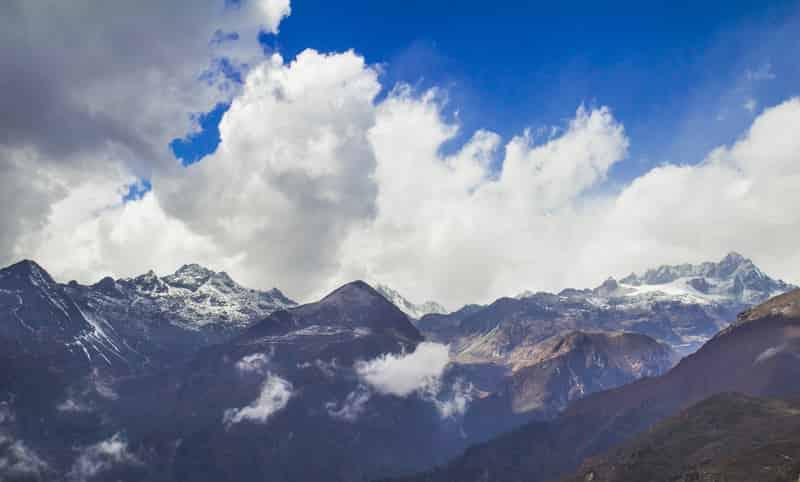 Dzongri Trek View, Sikkim