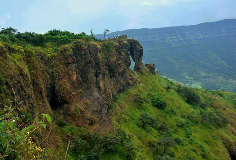 Elephant's Head Point at Mahabaleshwar