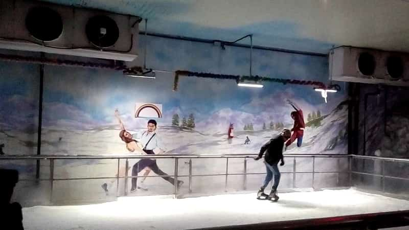Enjoy Skating at Snow World