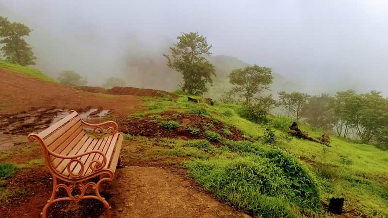 Enjoy scenic views at Kamshet