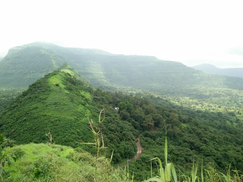 njoy splendid views from the Tikona Fort