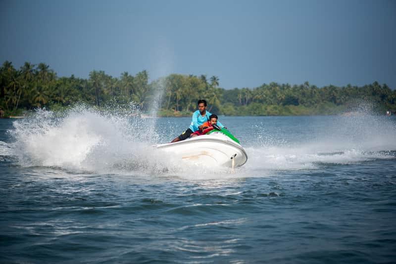 Enjoy water sports in Tarkarli