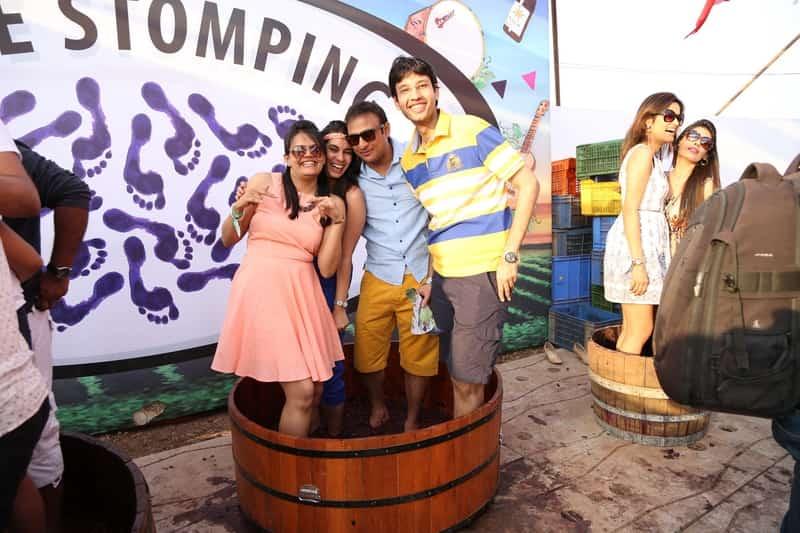 Grape Stomping Sula Fest