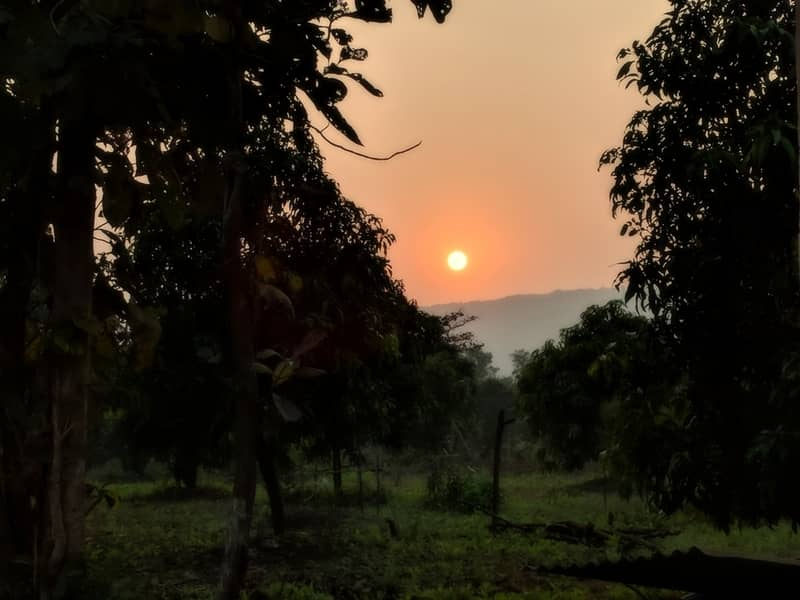 The sunset in Kolad