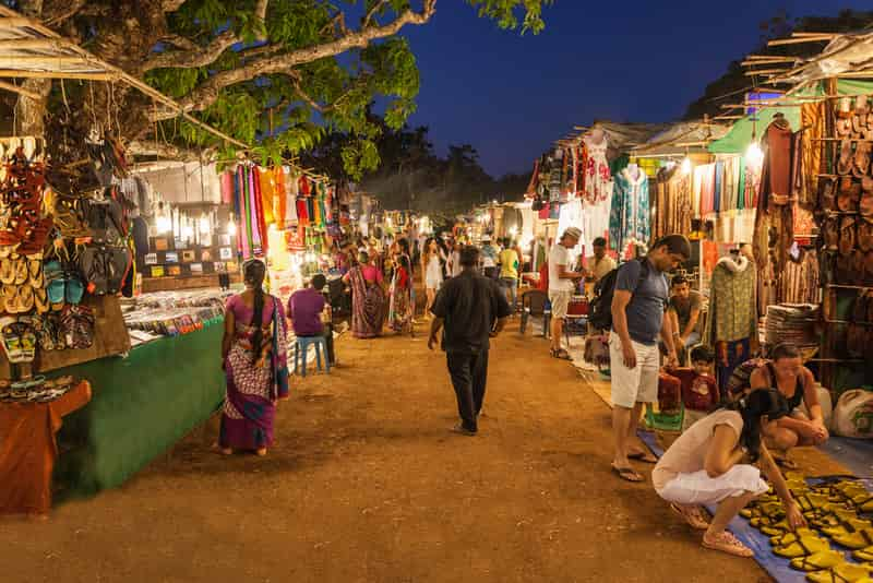 Mapusa Night Market in Goa
