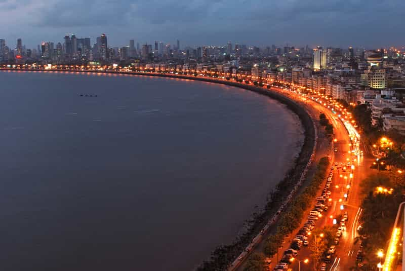 The Queen's Necklace is Marine Drive's apt nickname