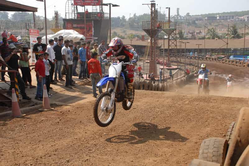 Motocross Biking at Della Adventures