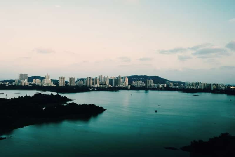 Powai Lake is a serene location