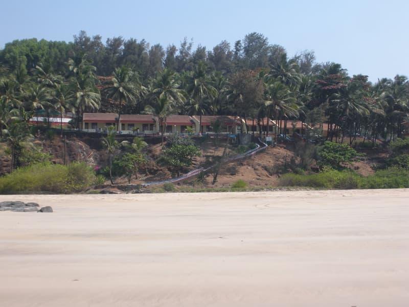 Resorts At the famous Ganpatipule Beach