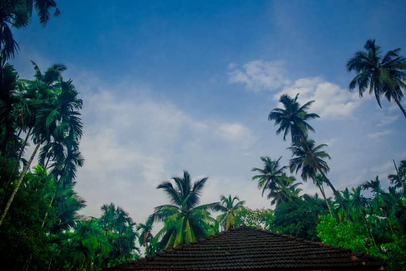 Scenic views of Harihareshwar