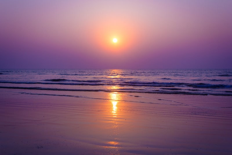 Enjoy the sunset from the Shirgaon Beach, Palghar
