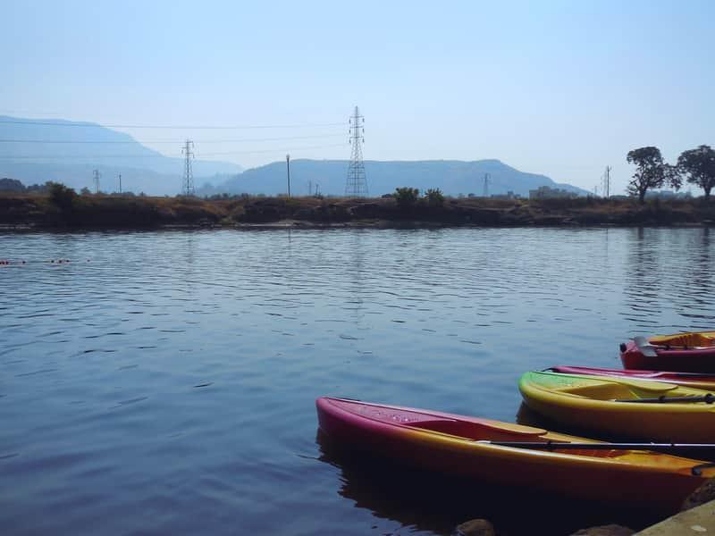Sports Boats in Ulhas River, Karjat