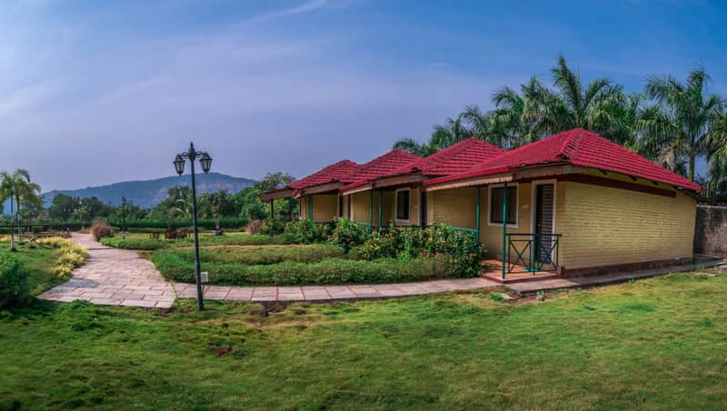 Surround yourself with serenity during your stay at Karjat