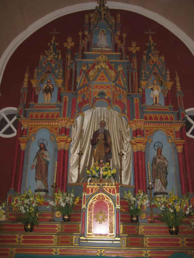 The Altar at St Andrew's Church, Bandra