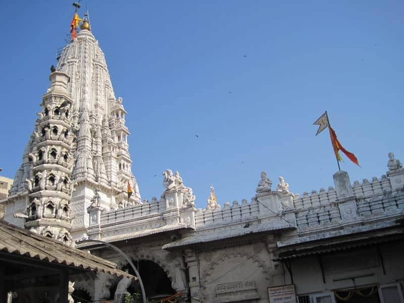 The Babulnath Temple early in the morning